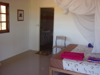 Here & Now guest room